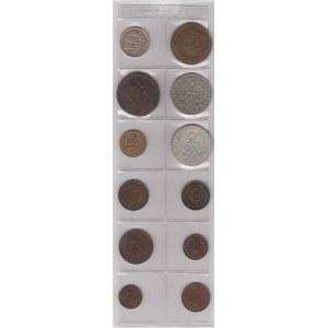 Estonia, Poland, Lithuania, Latvia lot of coins (12)