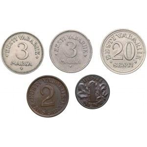 Estonia lot of coins (5)
