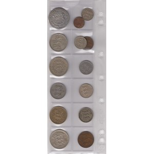 Estonia lot of coins - small collection (14)