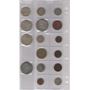 Estonia lot of coins - small collection (16)