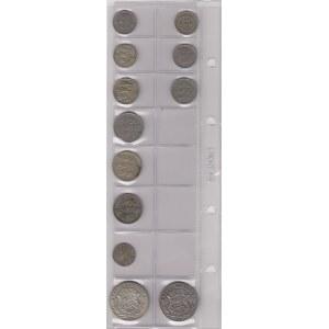 Estonia, Livonia lot of coins (12)