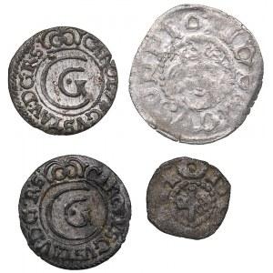 Livonian coins (4)