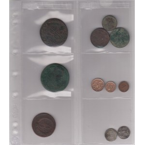 Coins of Sweden, Estonia, Germany, Russia (11)