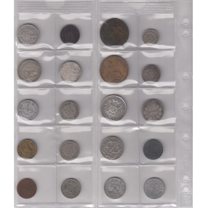 Germany, Poland, Great Britain coins (20)
