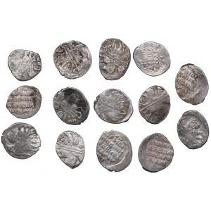 Russia silver Wire coins (14)