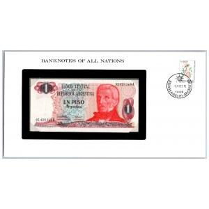 Argentina 1 peso 1983-84