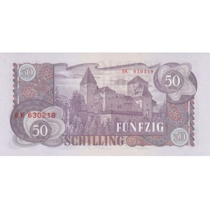 Austria 50 shillings 1962