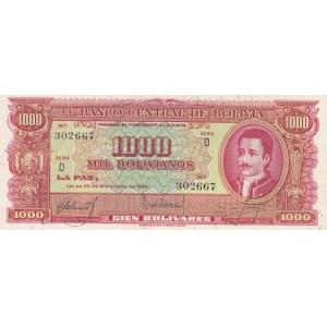 Bolivia 1000 bolivanos 1945