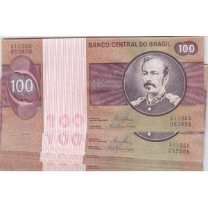 Brazil 100 cruzeiros 1981 (10 pcs)