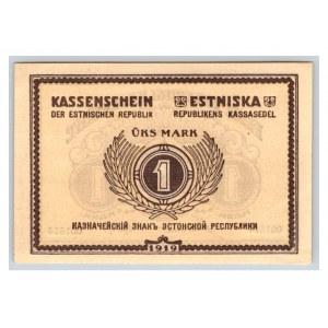 Estonia 1 marka 1919
