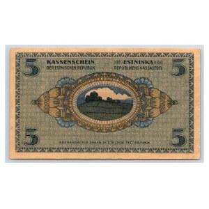 Estonia 5 marka 1919
