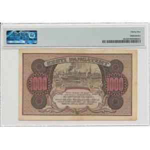 Estonia 1000 marka 1922 B - PMG 35