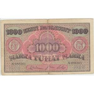 Estonia 1000 marka 1922 without series