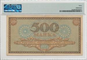 Estonia 500 marka 1923 - PMG 30