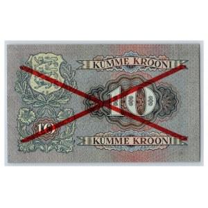 Estonia 10 krooni 1928 - SPECIMEN
