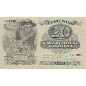 Estonia 20 krooni 1932