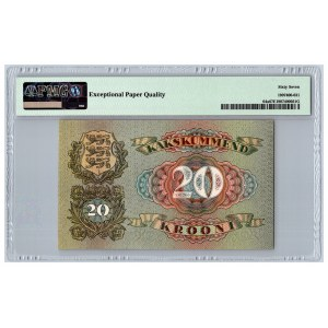Estonia 20 krooni 1932 - PMG 67 EPQ
