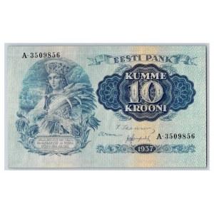 Estonia 10 krooni 1937