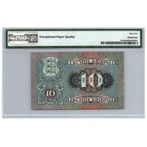 Estonia 10 krooni 1937 - PMG 65 EPQ