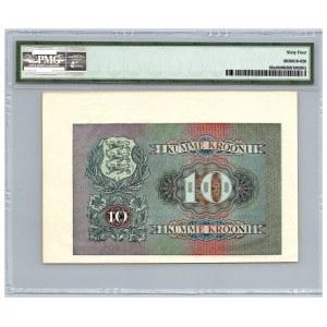 Estonia 10 krooni 1940 - PMG 64 - Unissued