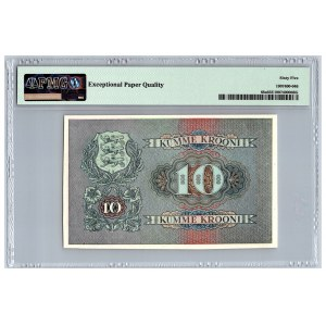 Estonia 10 krooni 1940 - PMG 65 - Unissued