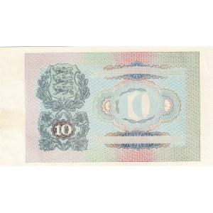 Estonia 10 krooni 1940 progressive proof