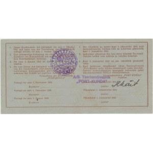 Estonia - Kunda 25 roubles 1941