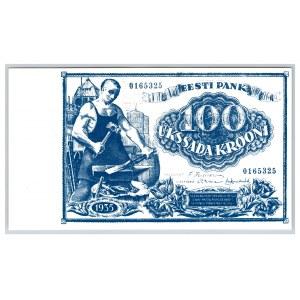 Estonia 100 krooni 1935 - Souvenir