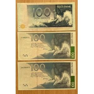Estonia 100 krooni 1991, 2007 (3)