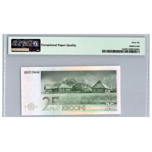 Estonia 25 krooni 1991 - PMG 66 EPQ
