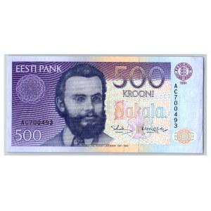Estonia 500 krooni 1991