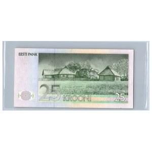 Estonia lot of paper money (3)