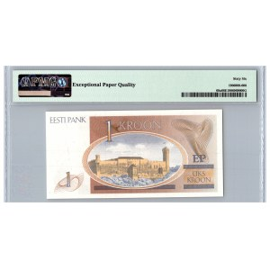 Estonia 1 kroon 1992 - PMG 66 EPQ