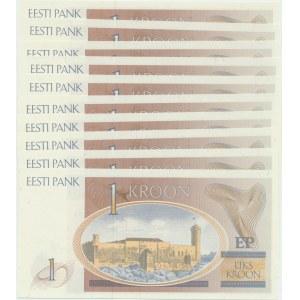 Estonia 1 kroon 1992 (10)