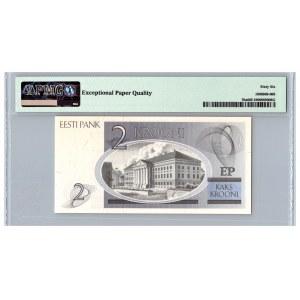 Estonia 2 krooni 1992 - PMG 66 EPQ