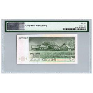 Estonia 25 krooni 1992 - PMG 66 EPQ