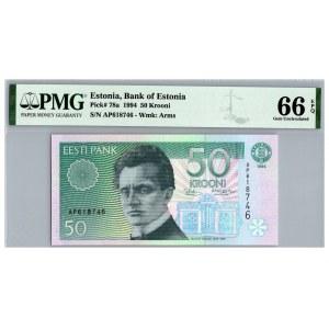 Estonia 50 krooni 1994 - PMG 66 EPQ