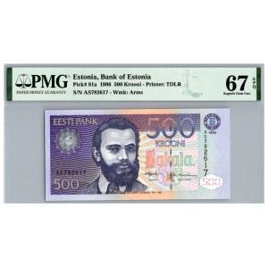 Estonia 500 krooni 1996 - PMG 67 EPQ