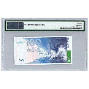 Estonia 100 krooni 1999 - PMG 66 EPQ