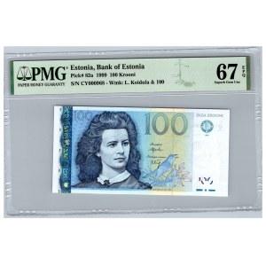 Estonia 100 krooni 1999 - PMG 67 EPQ
