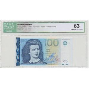 Estonia 100 krooni 1999. ICG 63