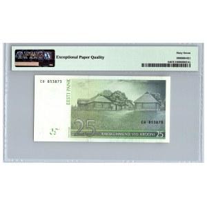 Estonia 25 krooni 2002 - PMG 67 EPQ