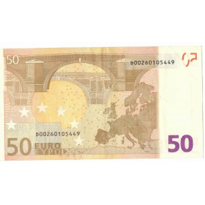 Estonia 50 euro 2002, D M. Draghi R049A1