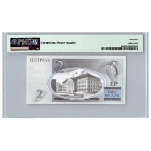 Estonia 2 krooni 2006 - PMG 65 EPQ