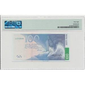 Estonia 100 krooni 2007 - ZZ - Replacement note - PMG 58