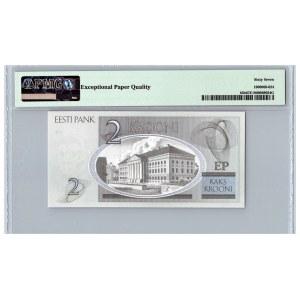 Estonia 2 krooni 2007 - PMG 67 EPQ
