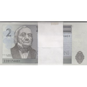 Estonia 2 krooni 2007 ZZ (100) - replacement notes