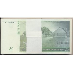 Estonia 25 krooni 2007 - bundle
