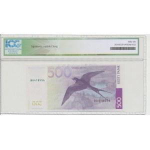 Estonia 500 krooni 2007. ICG 66