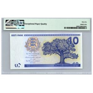 Estonia 100 krooni 2008 - PMG 66 EPQ  - COMMEMORATIVE